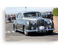 Vintage Two-Tone Bentley, West Kirby, July 2014 Canvas Print