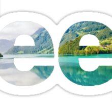 Jeep Lake Logo Sticker