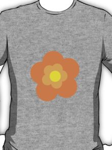 Flowers, Blossoms, Blooms, Petals - Orange Yellow T-Shirt