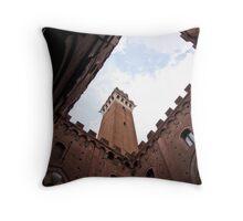 Siena - Italy Throw Pillow