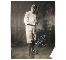 Yours Truly, Babe Ruth - NY Yankees Poster