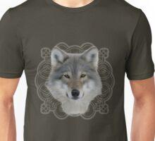 Wolf and saxon motif large image Unisex T-Shirt