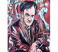 Quentin Tarantino & Friendly Toes Photographic Print