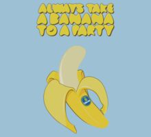 Always Take a Banana to a Party Kids Tee