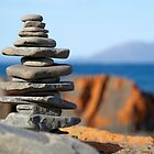 Rock stack by Morag Anderson