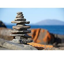 Rock stack Photographic Print