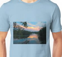 Evening at a Lake Canal Unisex T-Shirt