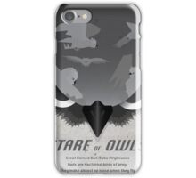 Stare of Owls iPhone Case/Skin