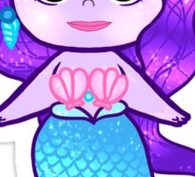 Glitter Mermaid Sticker