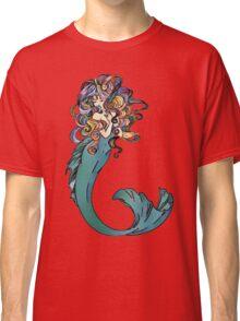 Colorful Mermaid Art Classic T-Shirt
