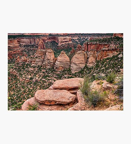 The Coke Ovens Rock Formation Western Landscape Photographic Print