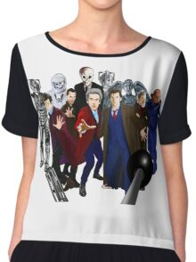 Doctor Who Chiffon Top