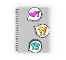 Pop Bubbles - Trio Spiral Notebook