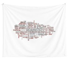 Social justice Wall Tapestry