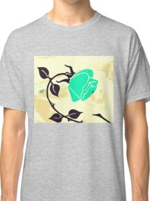 The Turquoise Rose Classic T-Shirt