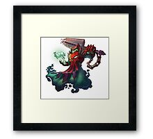 Wraithlord Scoop - Awesomenauts Framed Print