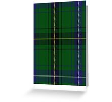 00021 Henderson/Mackendrick Clan/Family Tartan  Greeting Card