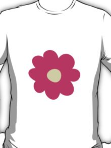 Flowers, Blossoms, Blooms, Petals - Pink Yellow  T-Shirt