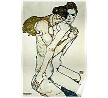 Egon Schiele - Friendship  Poster
