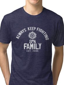 Always Keep Fighting (AKF) #2 Tri-blend T-Shirt