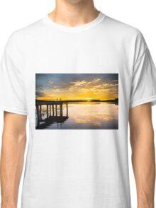 Yellow Flickers  Classic T-Shirt