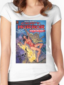 Crypt Horror Comic Women's Fitted Scoop T-Shirt