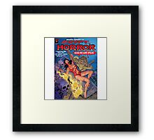 Crypt Horror Comic Framed Print