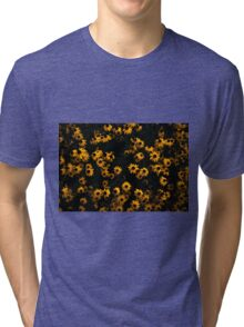 A Bed of Yellows Tri-blend T-Shirt