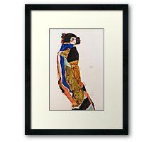 Egon Schiele - Moa (1911)  Framed Print