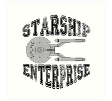 Star Trek - Enterprise NX-01 Logo Art Print