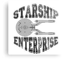 Star Trek - Enterprise NX-01 Logo Metal Print