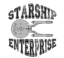 Star Trek - Enterprise NX-01 Logo Photographic Print