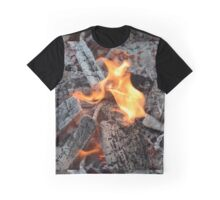 Burning Coals Graphic T-Shirt