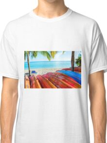 A Day in Paradise Classic T-Shirt