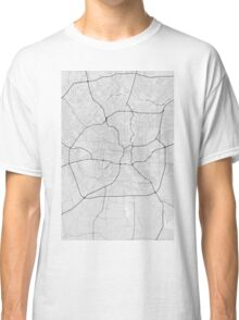 San Antonio, USA Map. (Black on white) Classic T-Shirt