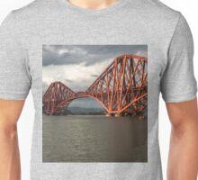 Forth Rail Bridge, Scotland Unisex T-Shirt