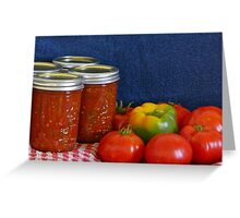 Salsa Still Life Greeting Card