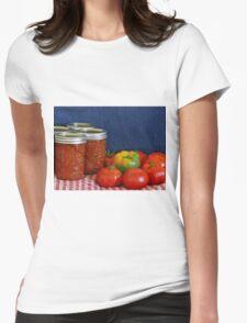 Salsa Still Life Womens Fitted T-Shirt