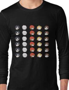 Mystic Messenger Icons Long Sleeve T-Shirt