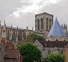 York Minster. by John (Mike)  Dobson