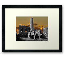 Cornish Tin Mine 5 Framed Print