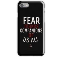 Fear- Doctor Who iPhone Case/Skin