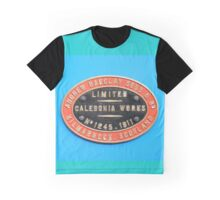 Andrew Barclay Sons and Co works plate colour Graphic T-Shirt