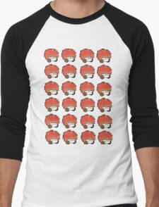 Mystic Messenger Icons - 707 Men's Baseball ¾ T-Shirt