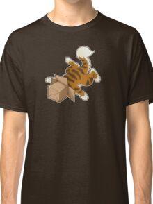 "Cat - ""Cat Box"" Classic T-Shirt"