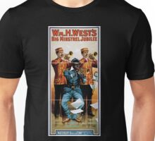 Performing Arts Posters Wm H Wests Big Minstrel Jubilee 1870 Unisex T-Shirt