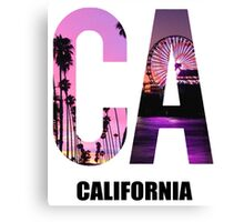 CA California Canvas Print