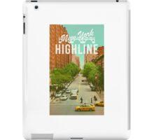 New York Highline iPad Case/Skin