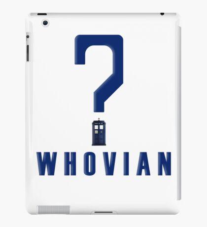 Doctor Who Whovian iPad Case/Skin
