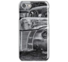 Old Warrior - 1940 Ford Race Car iPhone Case/Skin
